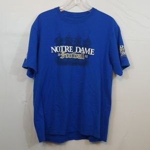 Really Nice Notre Dame Football Tshirt 2011 Sz XL